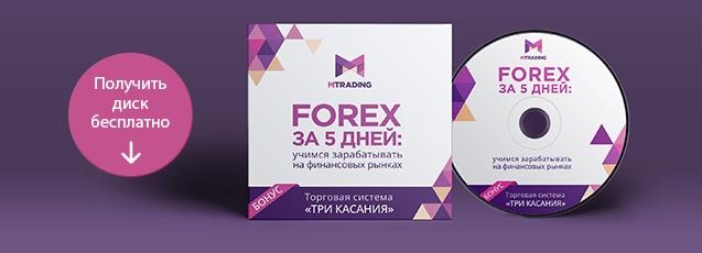Forex за 5 дней: учимся зарабатывать на финансовых рынках